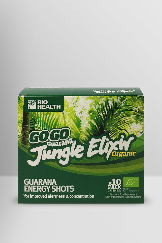 Organic GoGo Guaraná Jungle Elixir 10x15ml Phials