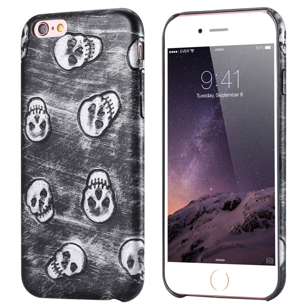 Skull iPhone Leather Case