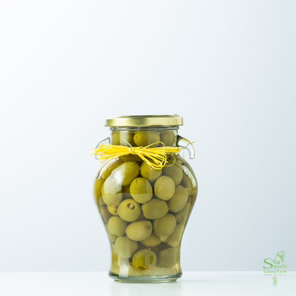 Lemon Rind Stuffed Olives