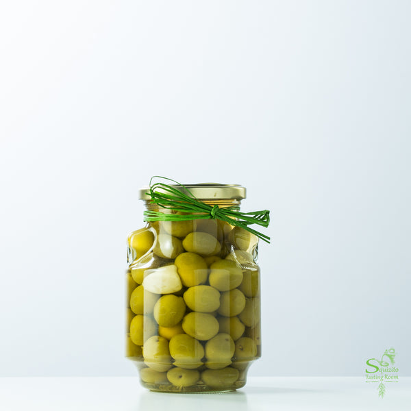 Whole Rosemary & Garlic Olives Not Pitted