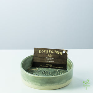 Hand Crafted Bread Dipping Pottery Dish