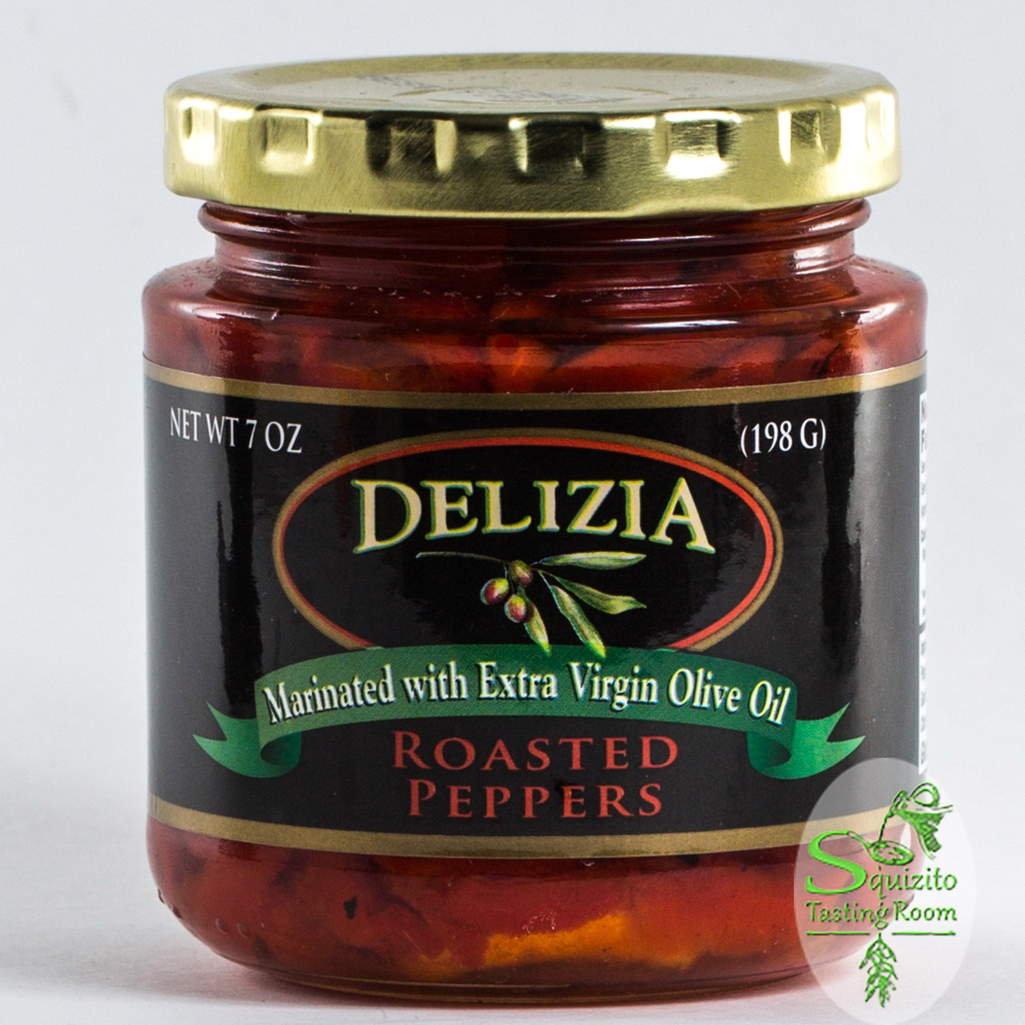 Buy Delizia Roasted Red Peppers Online at Squizito Tasting Room