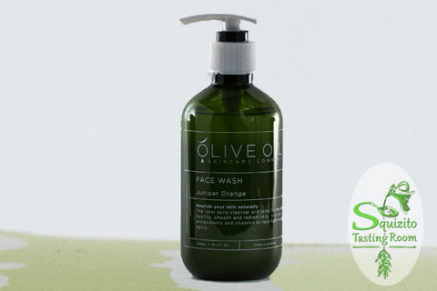 Olive Oil Juniper Orange Face Wash