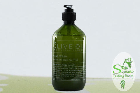 Olive Oil Lemon Scented Hand Wash