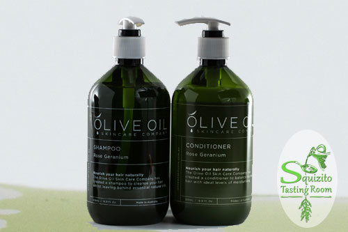 Olive Oil Naturally Nourishing Shampoo and Conditioner