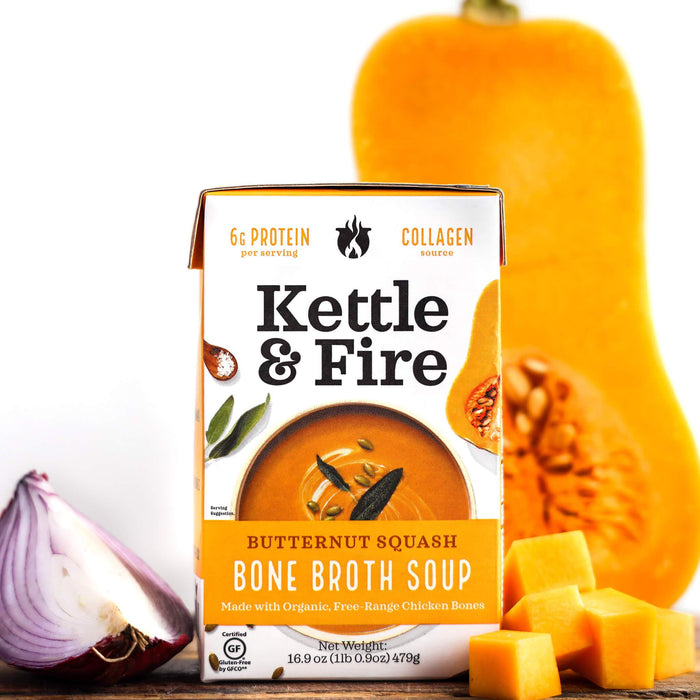 Butternut Squash Soup (Made With Bone Broth) [MEMBERSHIP PRICING] Soups Kettle & Fire