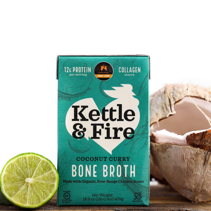 8-Pack: Flavored Broth Bundle Bundle Kettle & Fire