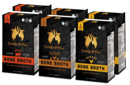 6-Pack: Bone Broth Variety Bundle-Bone Broth-Kettle & Fire