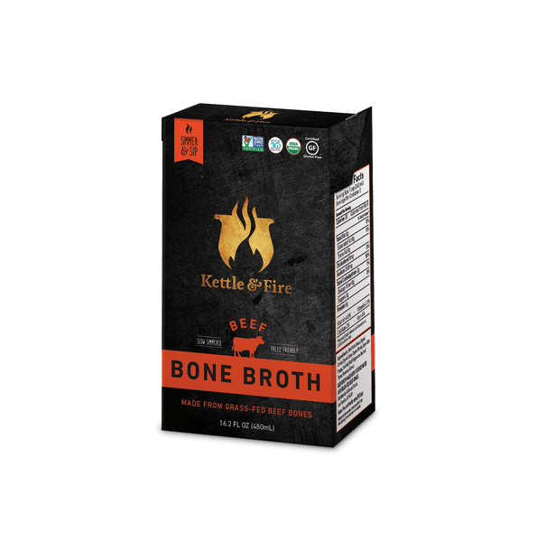 6-Pack: 100% Grass-Fed Beef Bone Broth (20% OFF)