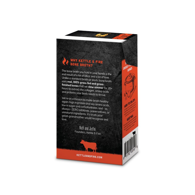 6-Pack: Beef Only Bundle Bone broth Kettle & Fire