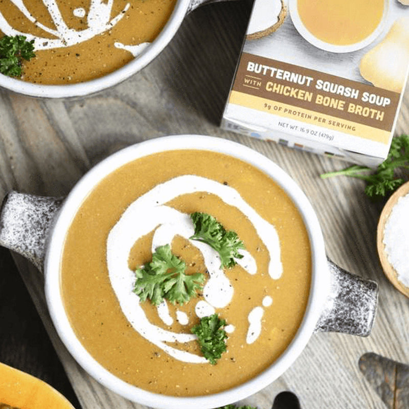 6-Pack: Butternut Squash Soups (Made With Bone Broth)-Soups-Kettle & Fire