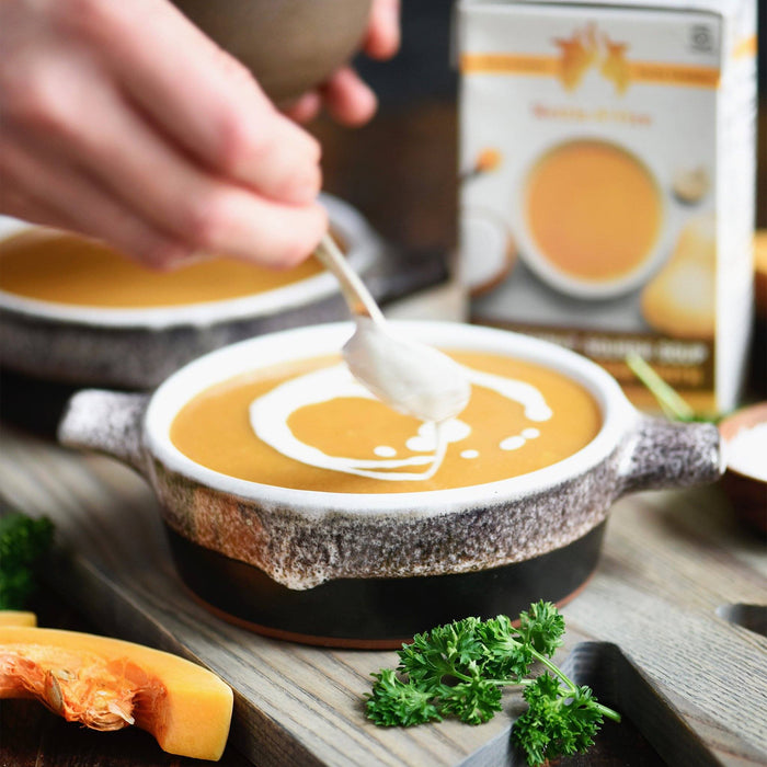 6-Pack: Butternut Squash Soups (Made With Bone Broth) Soups Kettle & Fire