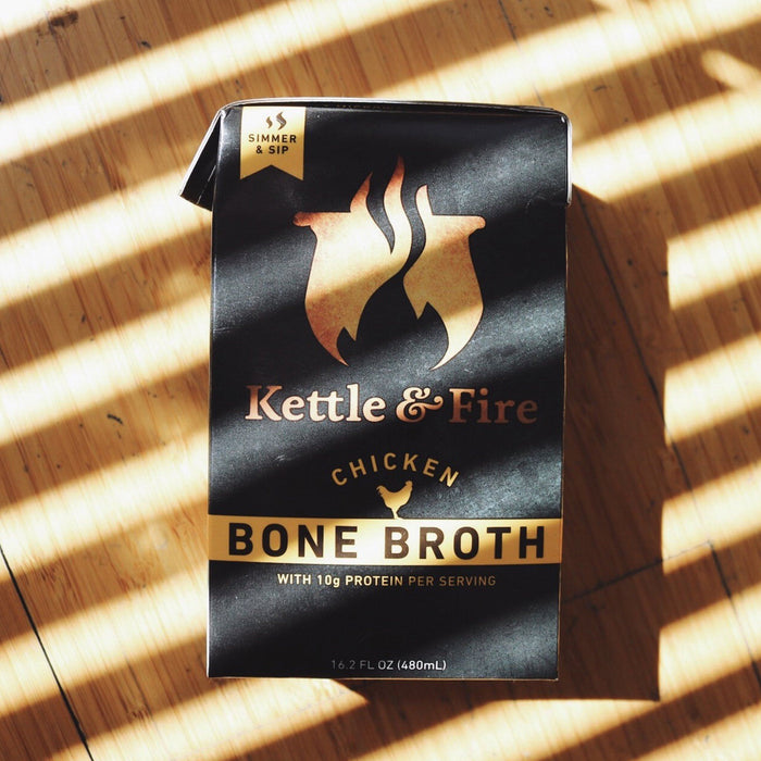 2-Pack: Chicken Only Bundle-Bone broth-Kettle & Fire