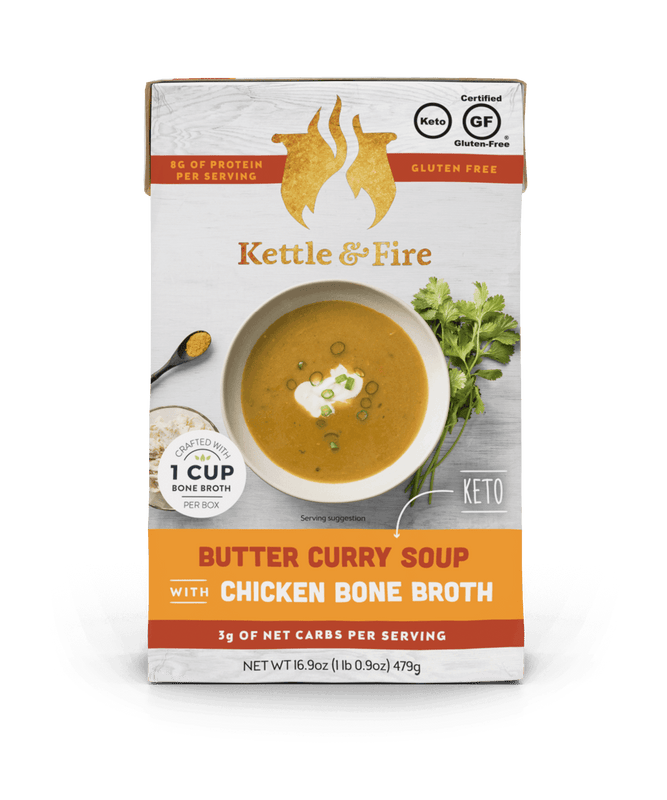 Butter Curry Keto Soup Keto Soups Kettle & Fire
