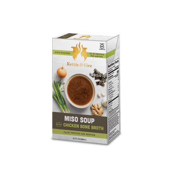 2-Pack - Miso Soups (Made With Bone Broth)