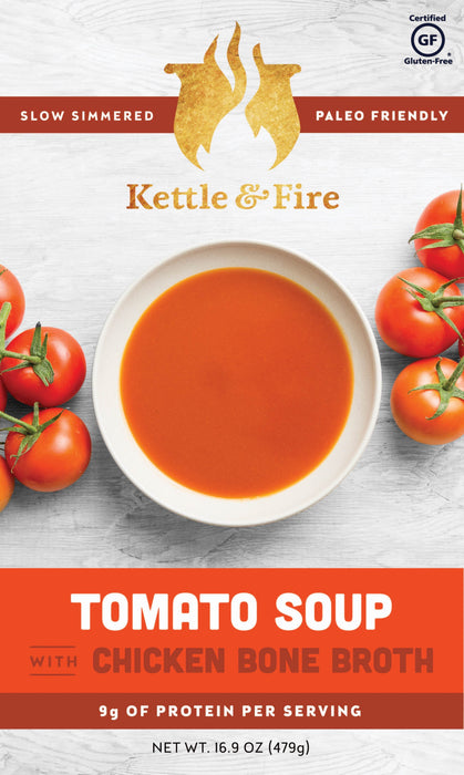 2-Pack: Tomato Soups (Made With Bone Broth)-Soups-Kettle & Fire