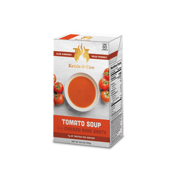 2-Pack - Tomato Soups (Made With Bone Broth)
