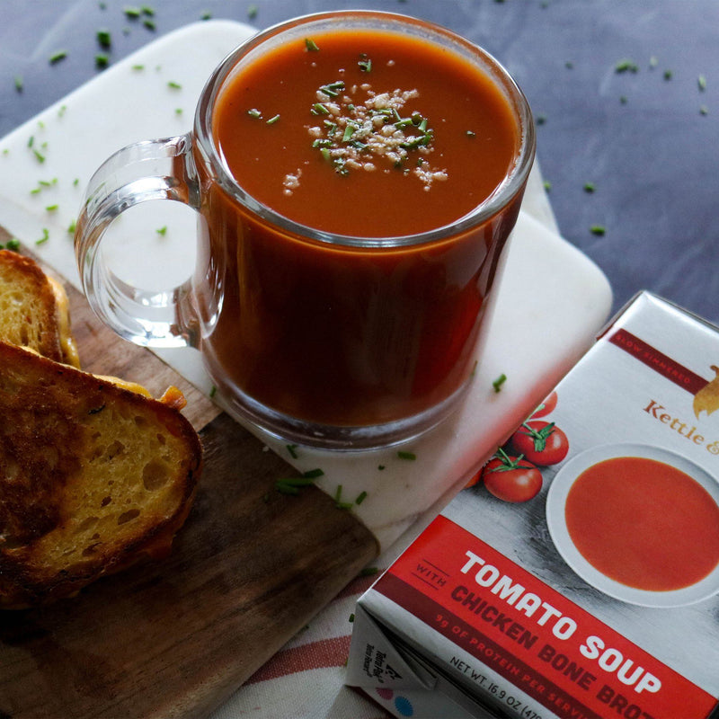 18-Pack: Tomato Soups (Made With Bone Broth) Soups Kettle & Fire