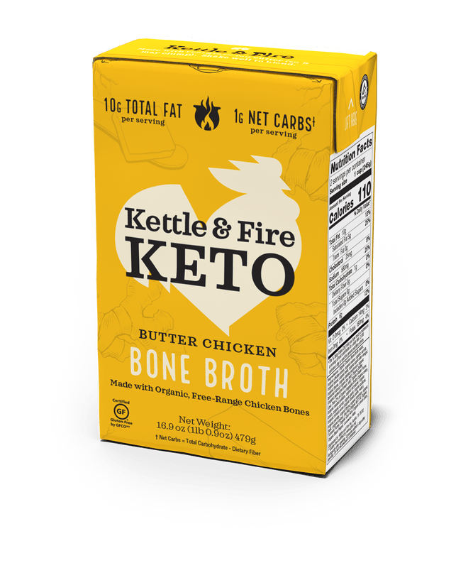 12-pack: Keto Broths Variety Bone broth Kettle & Fire