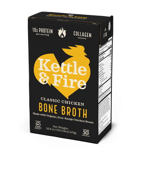 Chicken Bone Broth - 16.9 oz-Bone broth-Kettle & Fire