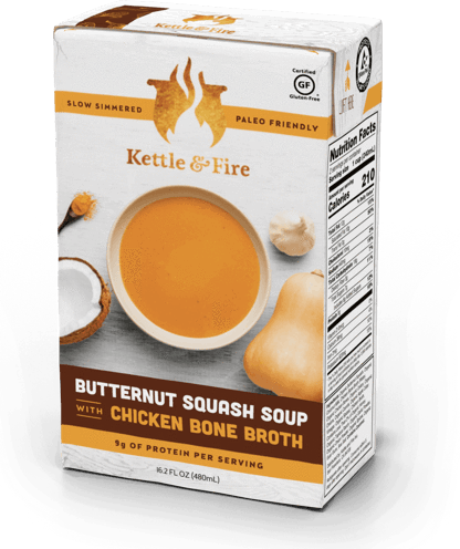 Butternut Squash Soup Made With Bone Broth-Soups-Kettle & Fire