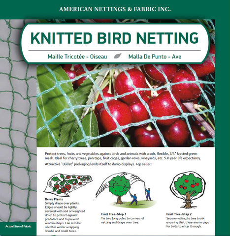 Bird Netting 15' x 15'