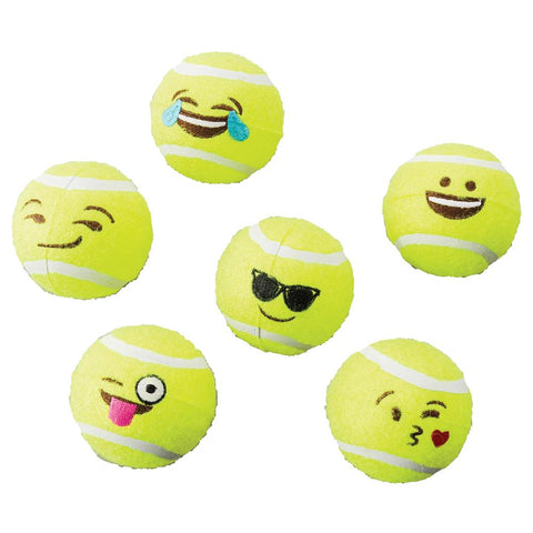 Emoji Tennis Balls 2-pack Assorted