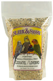 Sleek & Sassy Fortified Small Hookbill with Sunflower Bird Food