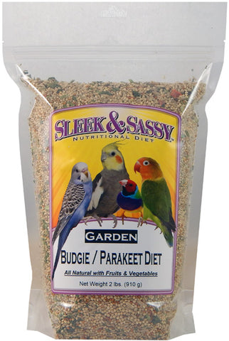 Sleek & Sassy Garden Budgie (Parakeet) Food