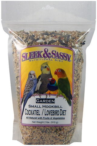 Sleek & Sassy Garden Small Hookbill Bird Food