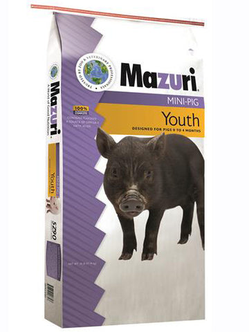 Mazuri Mini Pig - Youth 25 lbs.