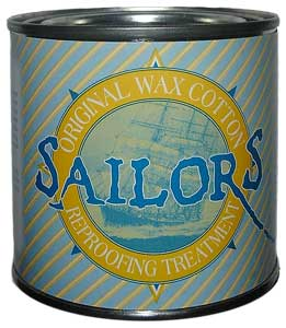 Sailors Original Wax Cotton Reporofing Treatment - 8 oz.