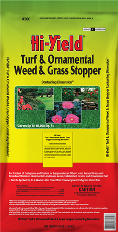 Hi-Yield Turf, Ornamental Weed & Grass Stopper 12 lbs.