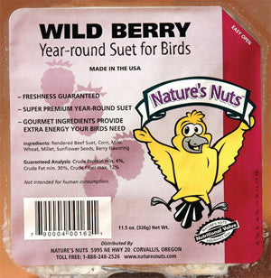 Nature's Nuts Suet Cakes for Birds