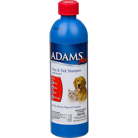 Adams Flea & Tick Shampoo 12 oz.