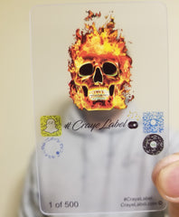 #CrayeLabel Face Filters ™ Skull Fire