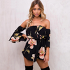 Don't Sass Me Floral Short Jumpsuit