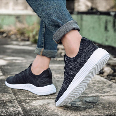 #summer Running Shoes-Men's Shoe-📸 #CrayeLabel-Black-8.5-CrayeLabel.com