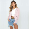 Single Button Short Jacket