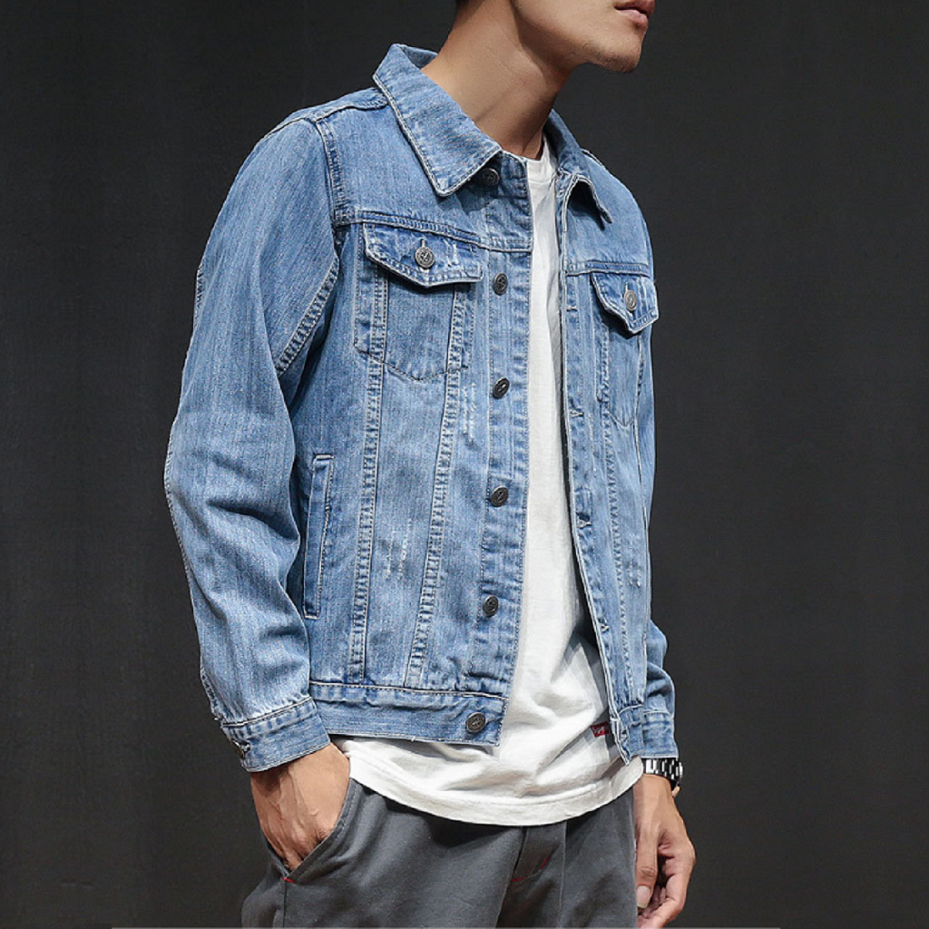 Be Simple Denim Jacket