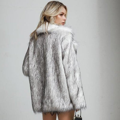 Foxy Luxurious Long Coat