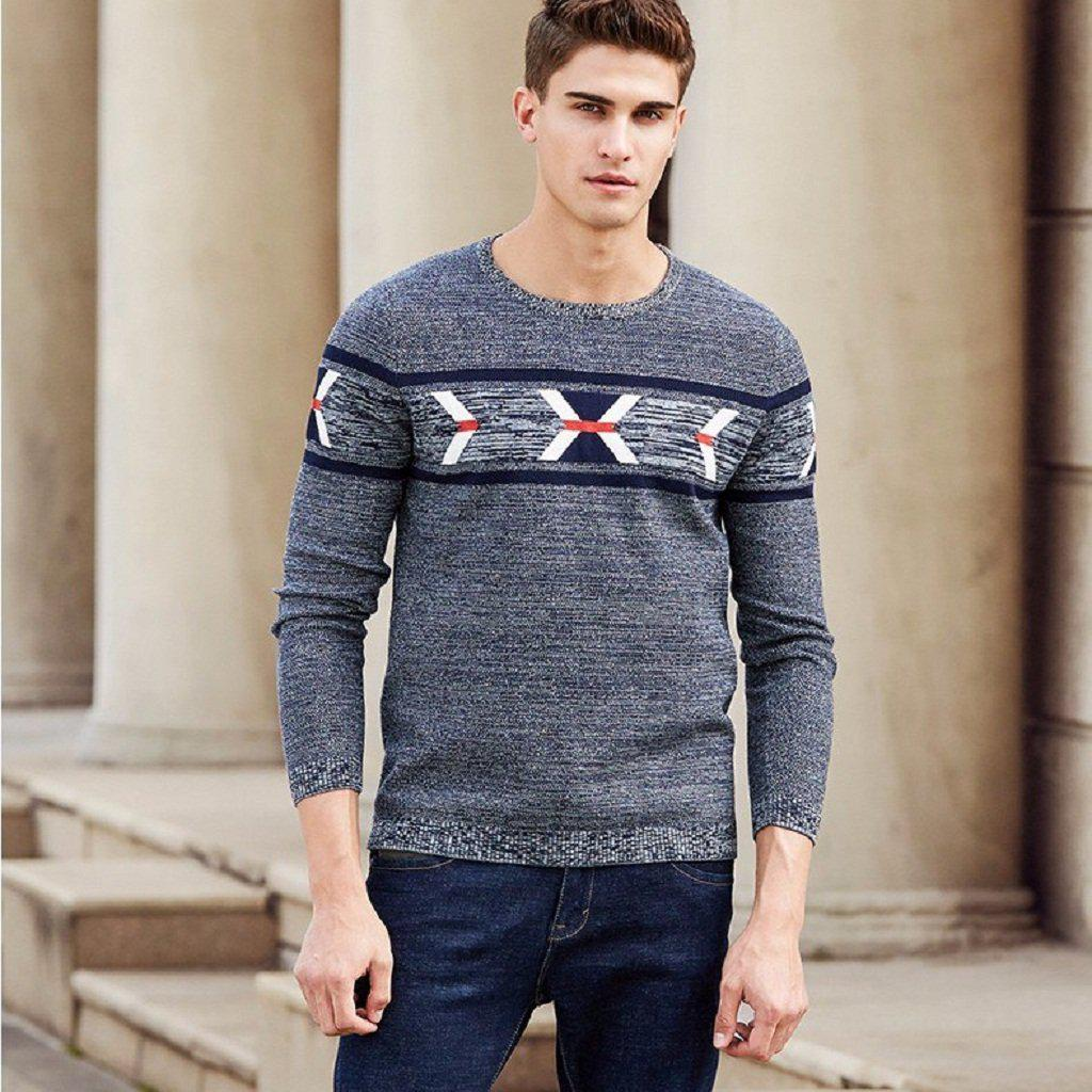 Tech Print Sweater