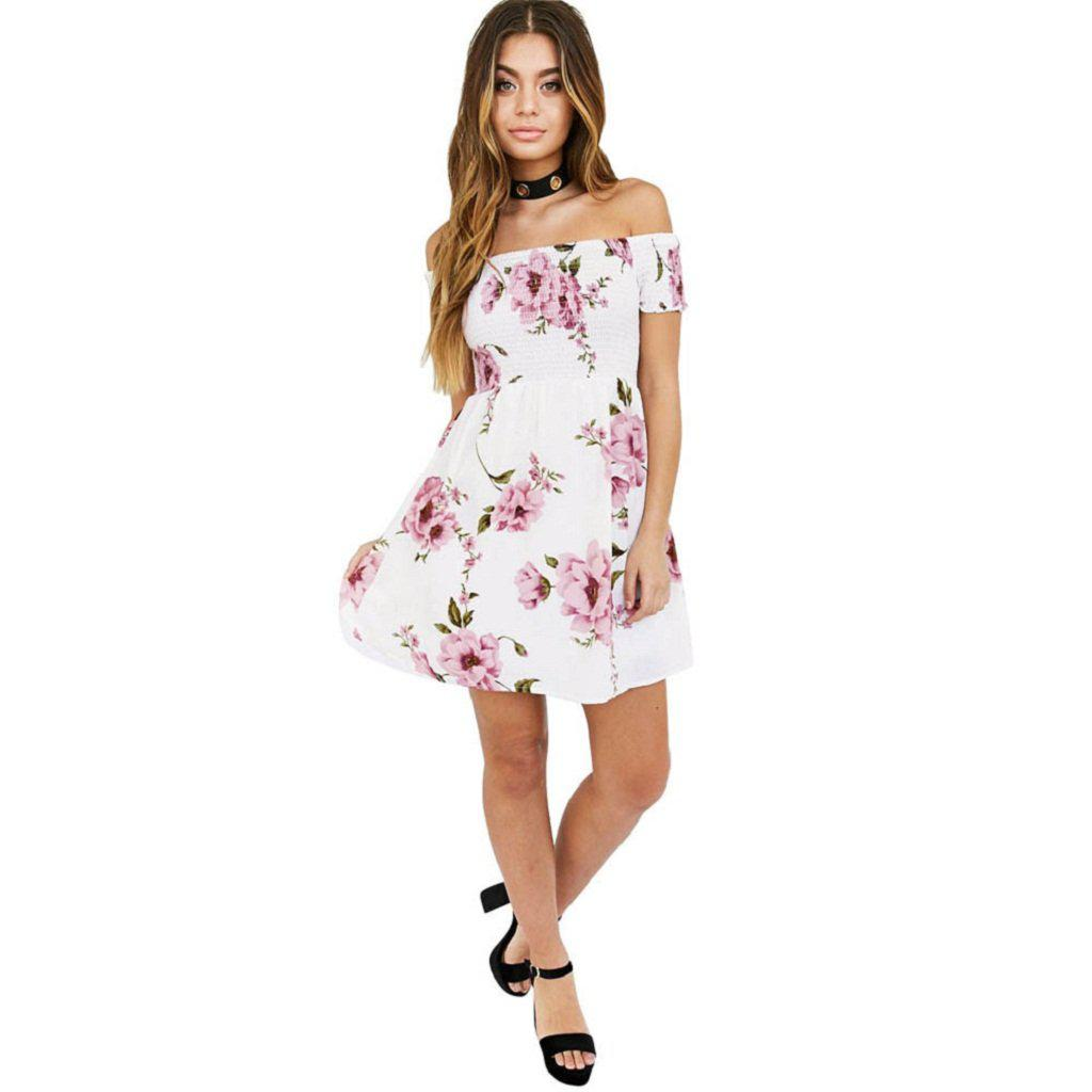 Flower Power Mini Dress