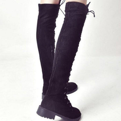 Lace Up Winter Boots