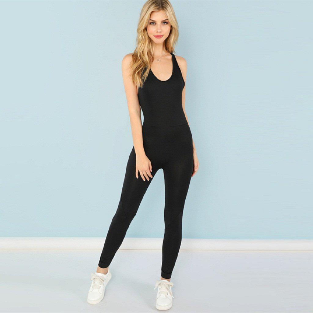 Sassy Backless Jumpsuit