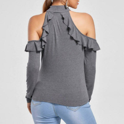 Ruffles Off Shoulder Top