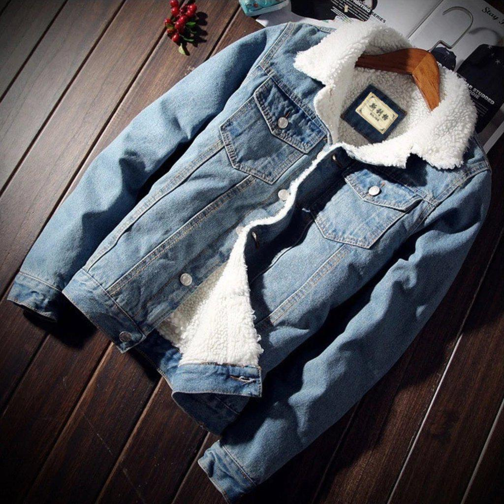 Keep It Cozy Denim Jacket