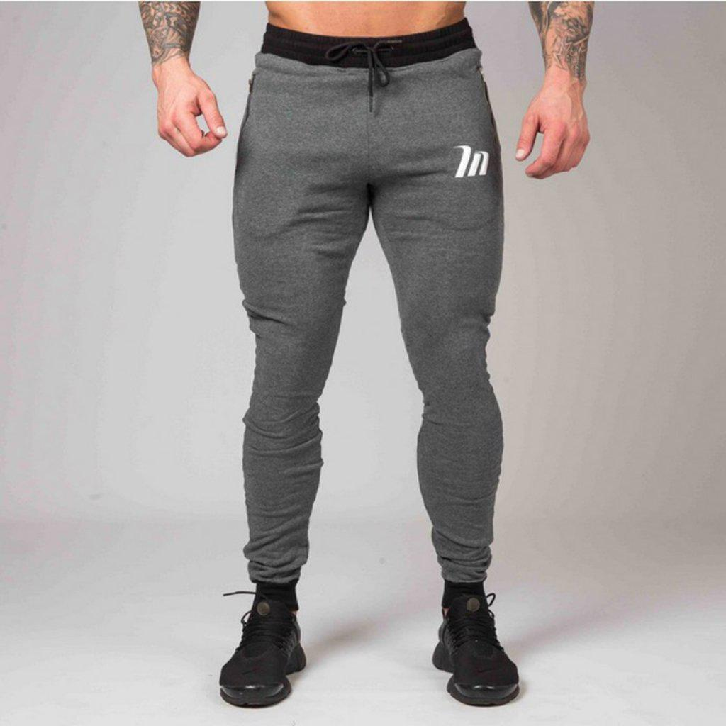 #flex Sweatpants-Men's Sweatpants & Joggers-📸 #CrayeLabel-Dim Gray-S-CrayeLabel.com