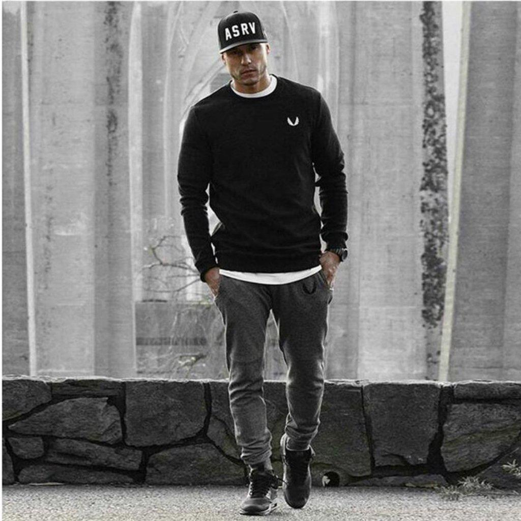 #elastic Jogger Pants-Men's Sweatpants & Joggers-📸 #CrayeLabel-CrayeLabel.com