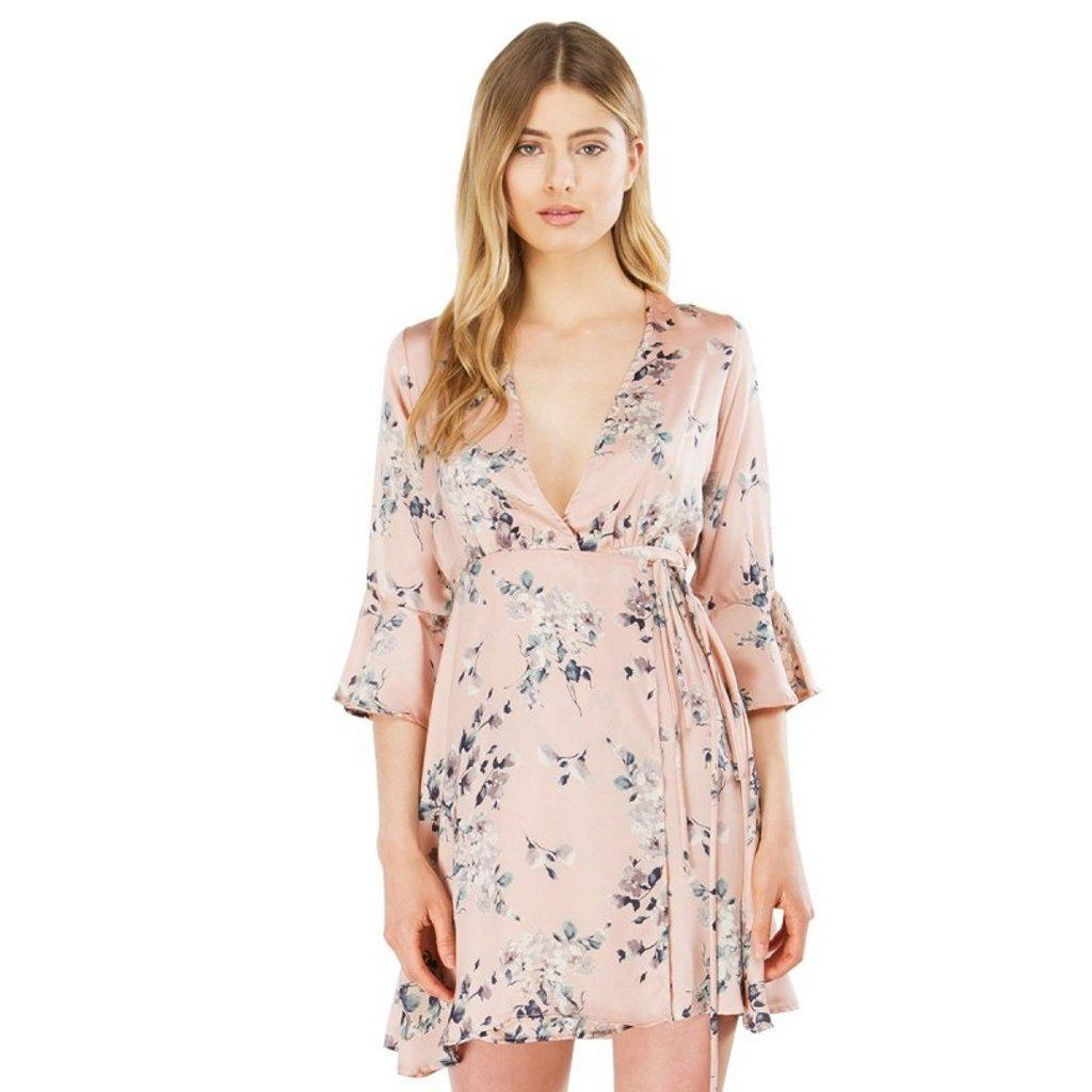 #flow Mini Dress-Women's Mini Dresses-📸 #CrayeLabel-Pink-M-CrayeLabel.com